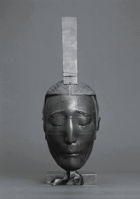 , 'An Attendant No.3 (Head),' 2001, Leo Gallery