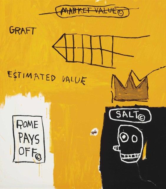 Jean-Michel Basquiat, 'Rome Pays Off - Set II', 1984-2005, Taglialatella Galleries
