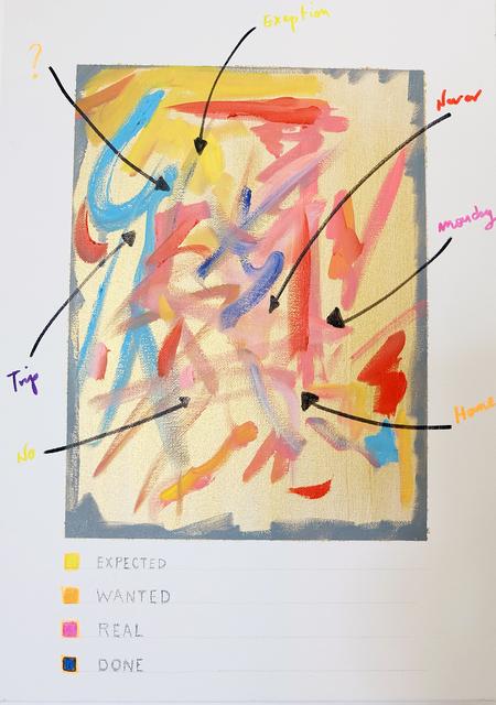 Roberto Cabot, 'Gestures', 2018, Galerie Brigitte Schenk