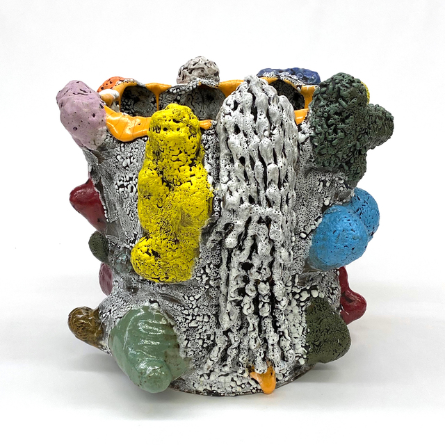 Vince Palacios, 'Potato Tree with Vines', 2020, Sculpture, Clay, Slip, Glaze and Various Flux, Multiple Firing, Simard Bilodeau Contemporary