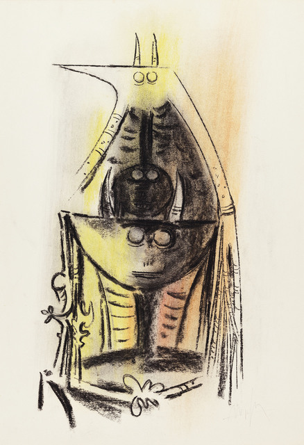 Wifredo Lam, 'Untitled', circa 1970, Christie's