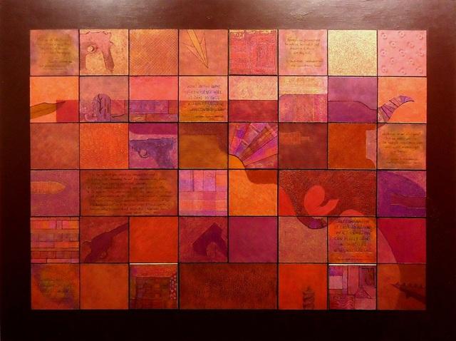 , 'Recaps & Reconnaissance - Red,' 2013, Cerulean Arts