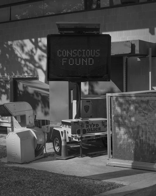 , 'Conscious Found,' 2017, ClampArt