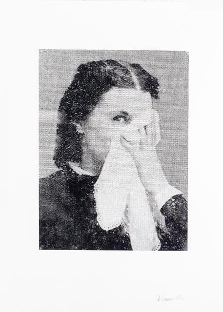 Lotte Reimann, 'No. 133 (lady with handkerchief)', 2016, Lepsien Art Foundation