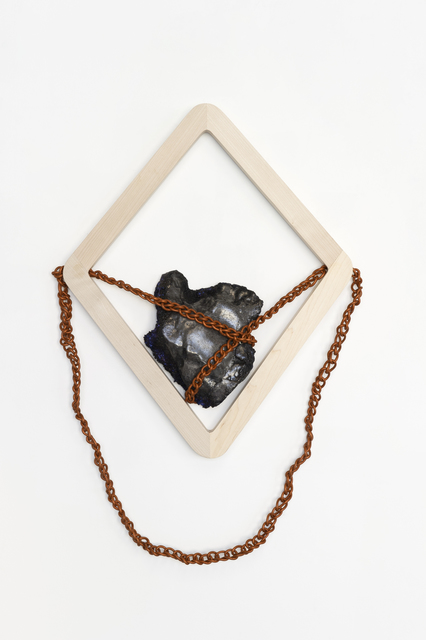 , 'Chained Portrait #1,' 2015, LMAKgallery