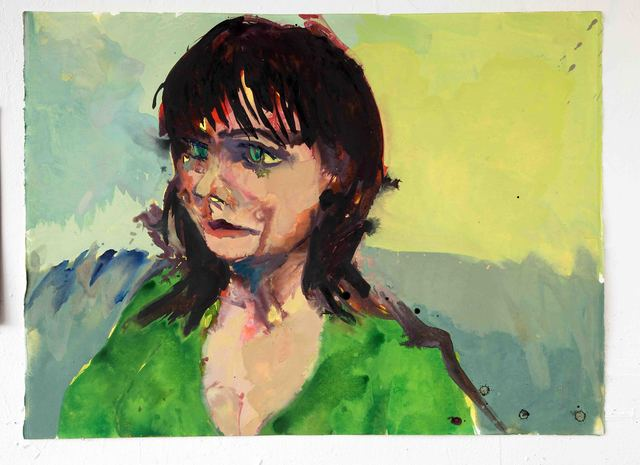 Michael Ajerman, 'Sophie in Green', 2012, Diane Rosenstein