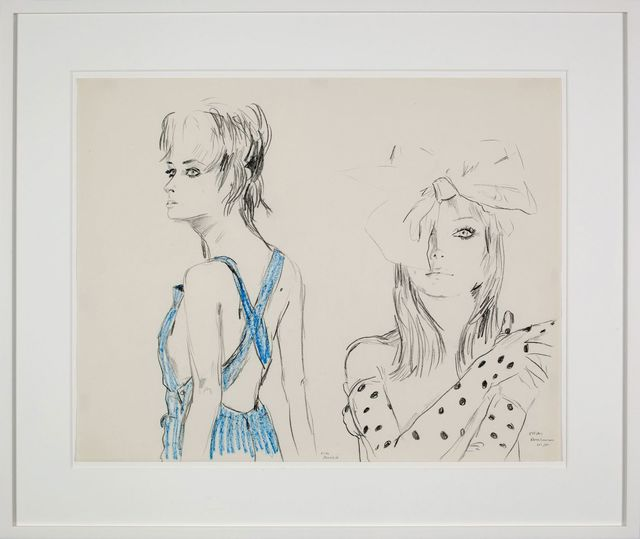 , 'my blue pinafore sundress,' 1986, 303 Gallery