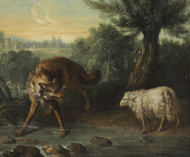 , 'The Wolf and the Lamb,' , Christie's Old Masters