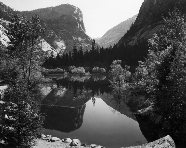 , 'Mirror lake, Mount Watkins, Yosemite National Park,' 1937, G. Gibson Gallery