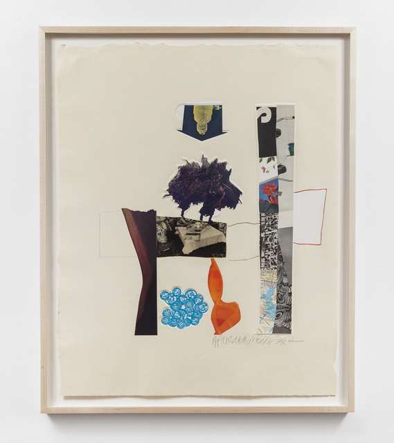 Robert Rauschenberg, 'Horsefeathers Thirteen-XIII', 1972, Print, Offset lithograph, screenprint, pochoir, collage and embossing on handmade paper, Gemini G.E.L.