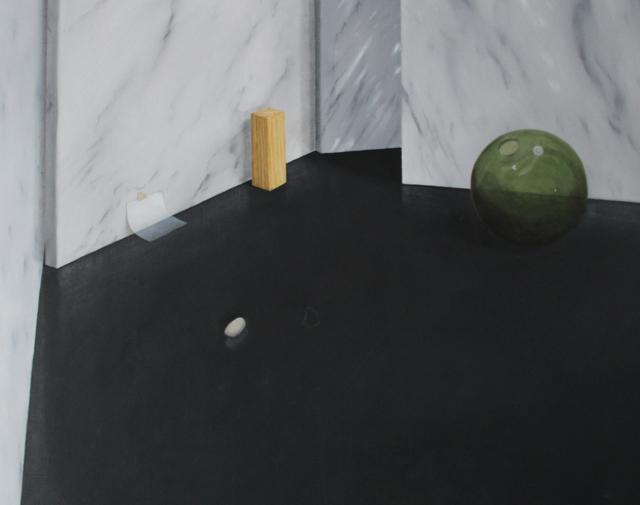 , 'Natura morta con palla di cristallo,' 2016, Boccanera
