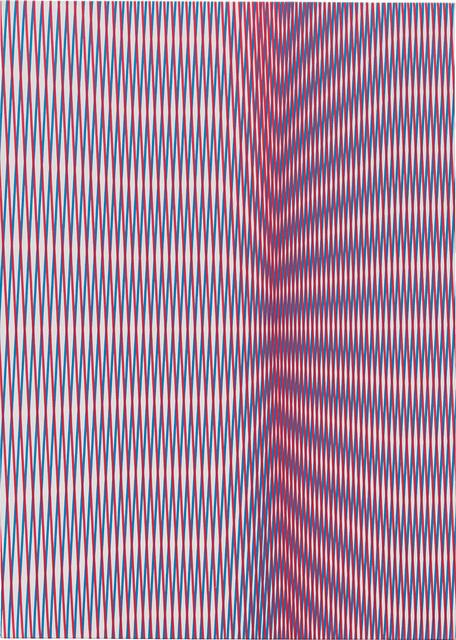 Philippe Decrauzat, 'On Cover', 2013, Phillips