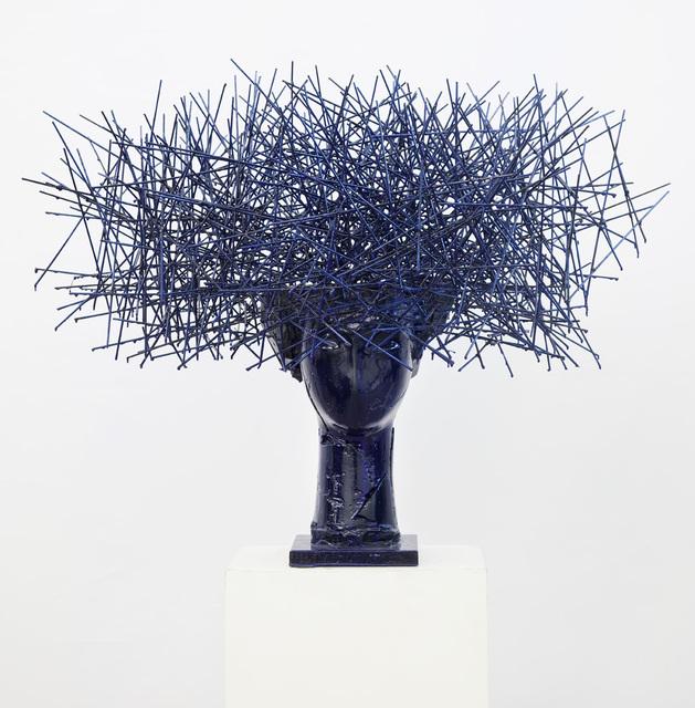 , 'Head in blue I,' 2016, Opera Gallery