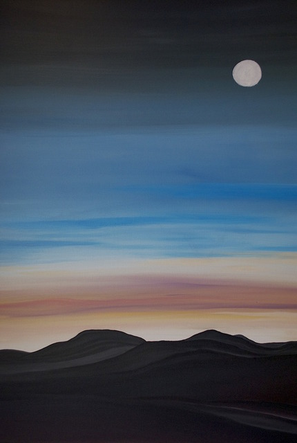 , 'Moon Over Black Hills,' 2012, Contemporary Collective Gallery