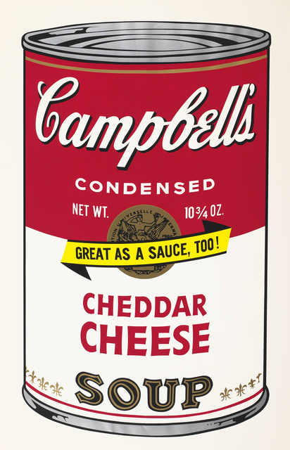 , 'Campbell's Soup II, 1969 Cheddar Cheese F&S II.63,' 1969, Fine Art Mia