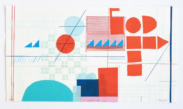 , 'Winter File 25,' 2019, David Krut Projects