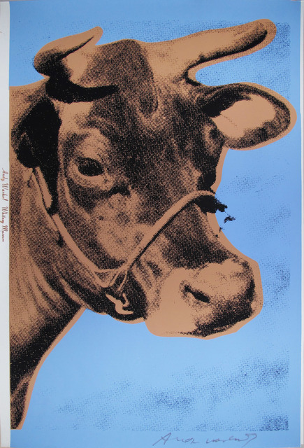 , 'Cow, II. 11A,' 1971, Ravizza Brownfield Gallery