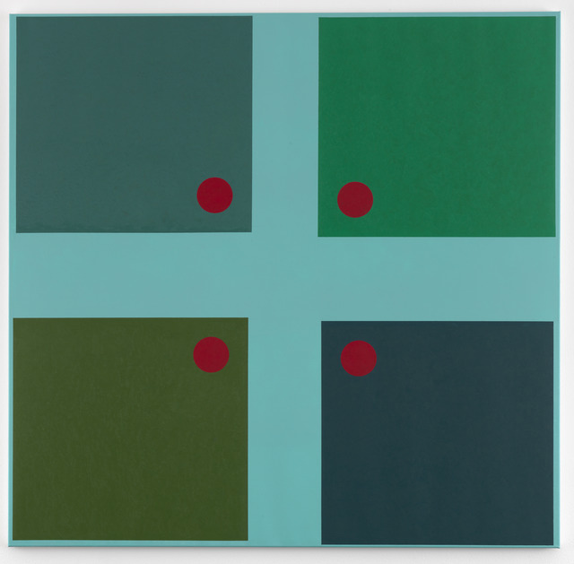 , 'Simple Paintings, Sky Blue Cruciform (Benjamin's Doors),' 2012/13, Anthony Reynolds Gallery
