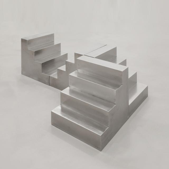 , 'Ri/Costruttivo 1/69 E.2016, Delta Uno, 4 scale modules, n. 13.57/16.57,' 1969-2016, A arte Invernizzi