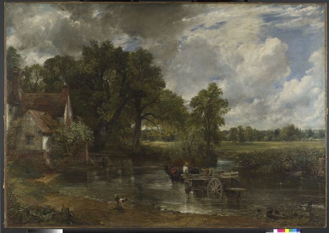, 'The Hay Wain,' 1821, Victoria and Albert Museum (V&A)