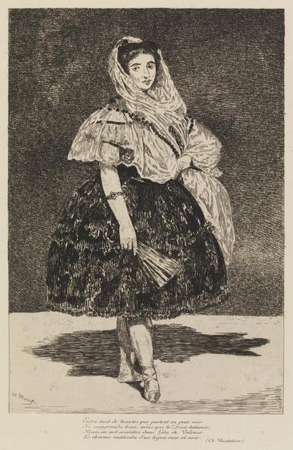 , 'Lola de Valence,' 1863, Statens Museum for Kunst