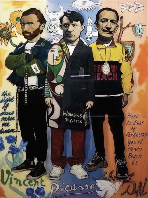 , 'Vincent x Picasso x Dali,' 2018, Mouche Gallery