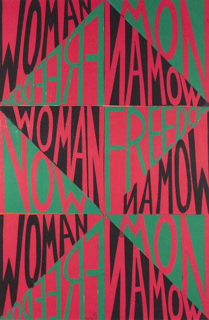 , 'Woman Freedom Now (Political Posters),' 1971, ACA Galleries