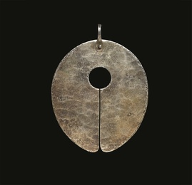 Untitled (Gong Pendant)
