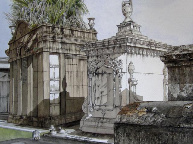 , 'Tombs ,' 2015, LeMieux Galleries