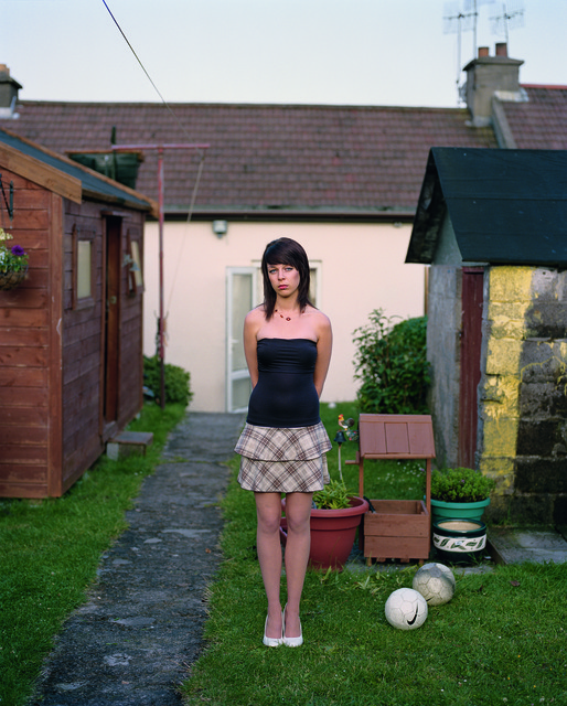 , 'Eirn on the Eve of Her Eighteenth Birthday, Cobh, Ireland,' 2009, Aperture Foundation