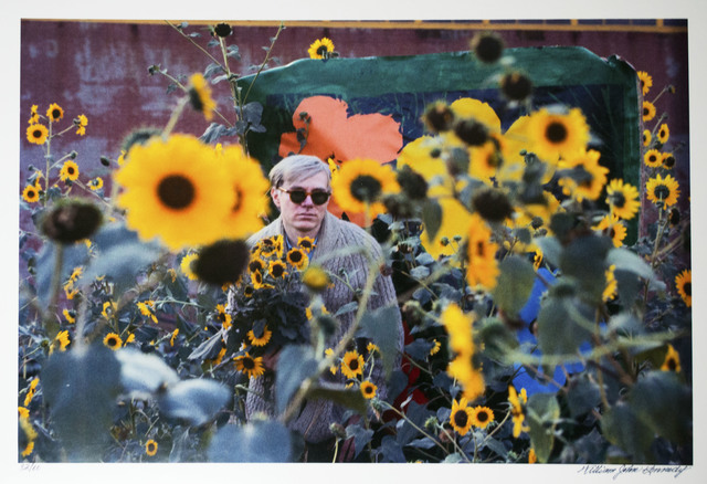 William John Kennedy, 'Andy Warhol with his Flowers', 1964, William John Kennedy Collection