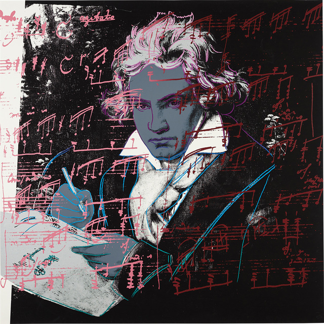 Andy Warhol, 'Beethoven', 1987, Phillips
