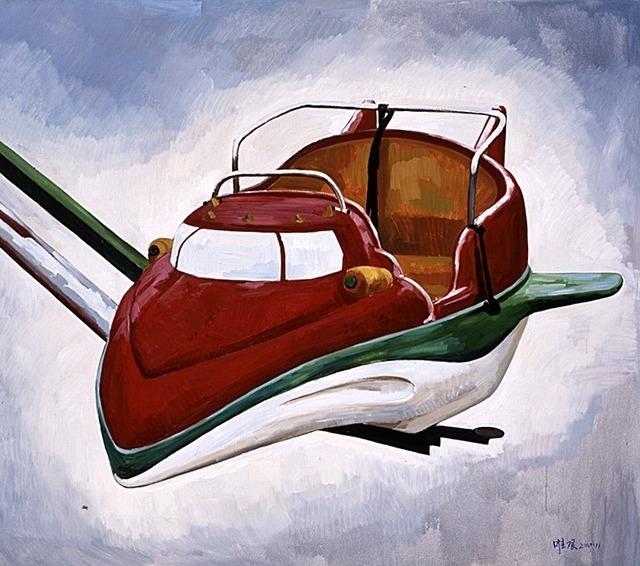 Liu Weijian, 'The Flying Car', 2010, ShanghART
