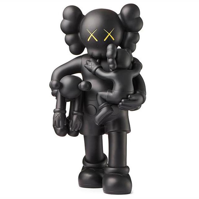 KAWS, 'Clean Slate (Black)', 2018, Sculpture, Vinyl, Lucky Cat Gallery