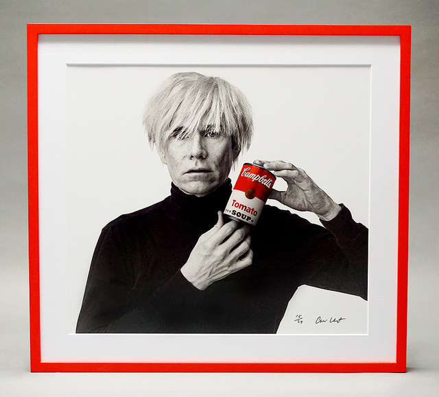 Andrew Unangst, 'Portrait of Andy Warhol (with Red Soup Can)', 1985-2018, Arton Contemporary