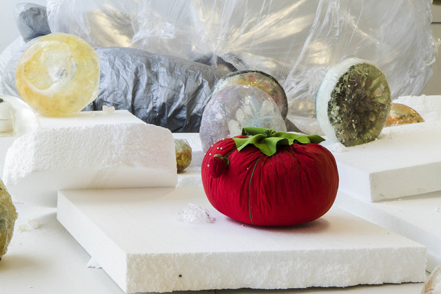 , 'Large Tomato Pin Cushion,' 2013, Johan Berggren Gallery