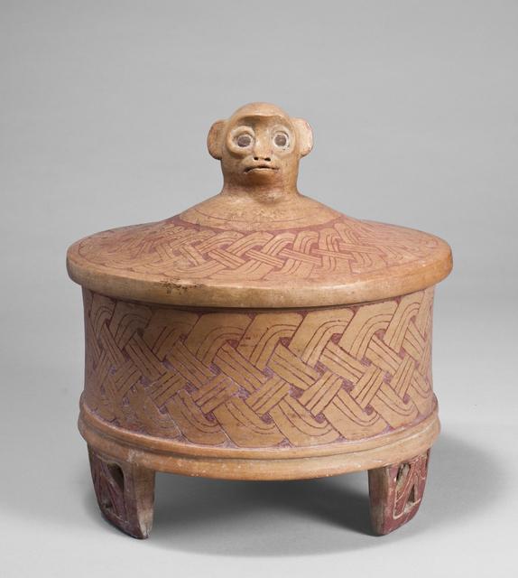 , 'MAYA TRIPOD VESSEL,' ca. A.D. 400-700, Colnaghi