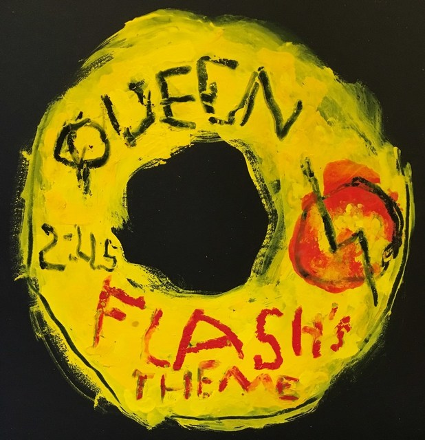 Kerry Smith, 'Off the Record / Queen / Flash's Theme', 2017, Cerbera Gallery
