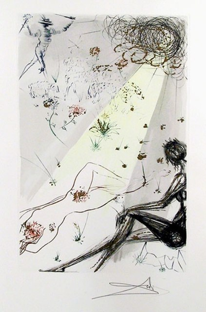 Salvador Dalí, 'Looke not upon mee that I am blacke from Song of Songs of Solomon portfolio', 1971, Puccio Fine Art