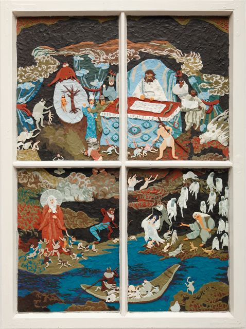 , 'Idioten,' 2013, Allouche Gallery