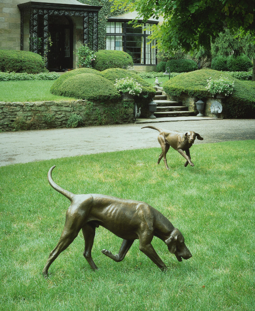 , 'Couple of Foxhounds,' 1990, Somerville Manning Gallery