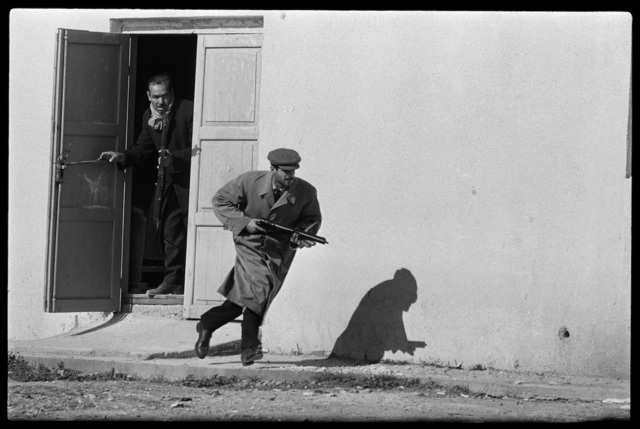 , 'Turkish Defender leaving the side entrance of a cinema, Limassol, Cyprus,' 1964, Hamiltons Gallery