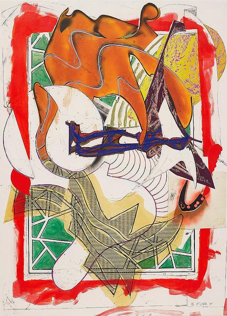 Frank Stella, 'HARK! FROM WAVES II', 1988, Carroll Art