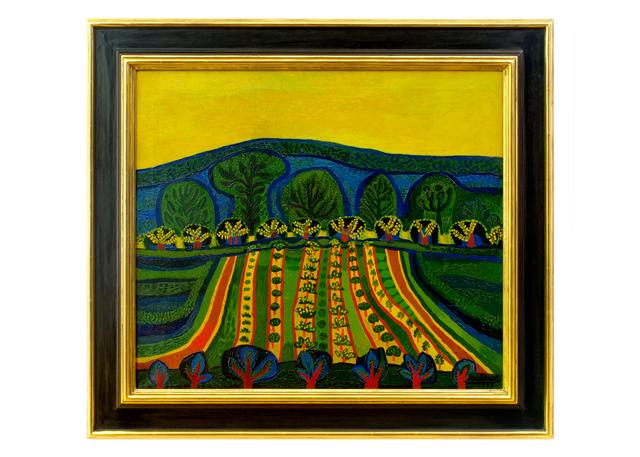 , 'Blühende Felder (Blooming Fields),' 1946, Hagemeier