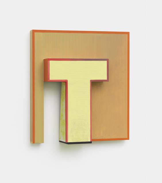 Thomas Scheibitz, 'Monogram (Relief)', 2017, Hakgojae Gallery