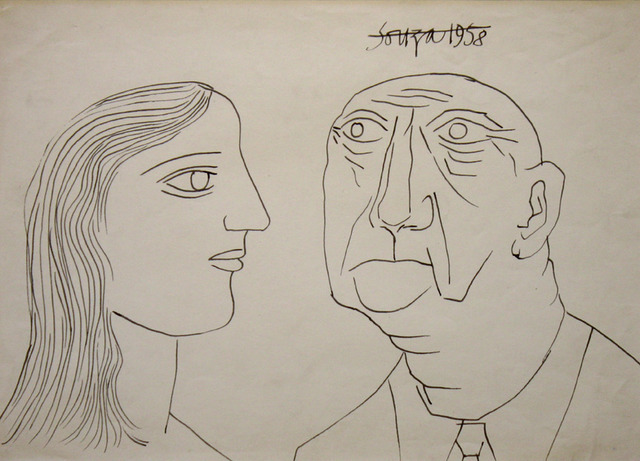 , 'Untitled (Portrait 2),' 1958, Aicon Gallery