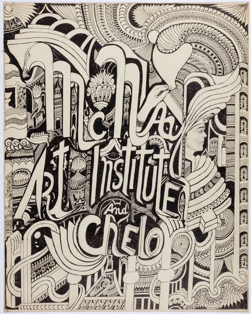 , 'McNay Art Institute and Chelo,' ca. 1970, Webb Gallery