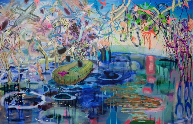 Melanie Daniel, 'Two Shores Away and Still Sloshing', 2014, Asya Geisberg Gallery