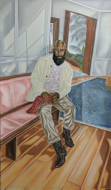 Toyin Ojih Odutola, 'Years Later - Her Scarf', 2017, Jack Shainman Gallery