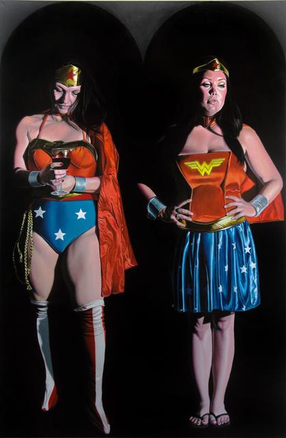 , 'Untitled 024 (Double Wonder),' 2016, Benjaman Gallery Group